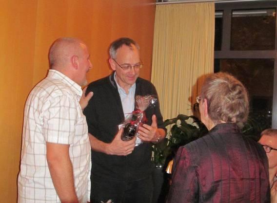 Abschied von Präses Urs Zimmermann, Präsident Roger Schneider und Josy Werner
