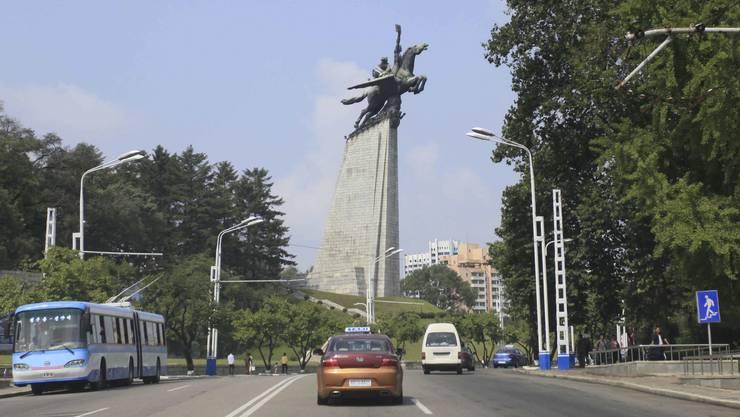 Besuch in Nordkoreas Hautpstadt Pjöngjang gefällig: Informationen bietet das Land neu auf einer Info-Website an.