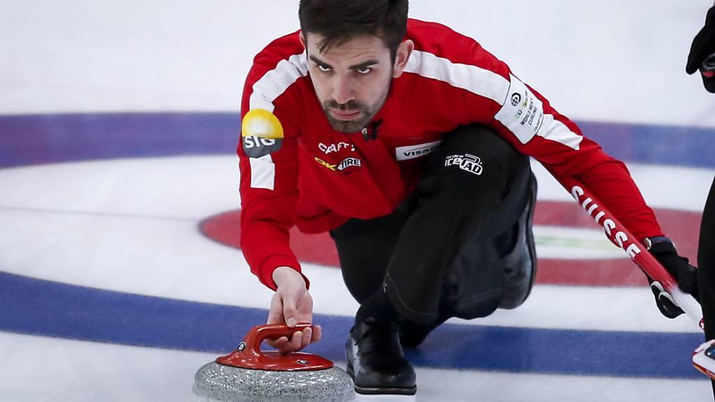 Schweizer Curler bezwingen die Olympiasieger