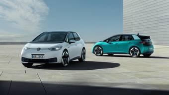 Der VW-Konzern bringt im Rahmen seiner E-Offensive den ID.3 auf den Markt.