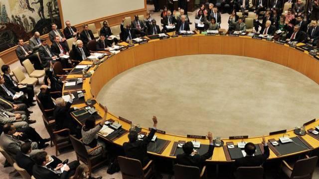 Abstimmung im UNO-Sicherheitsrat in New York (Archiv)
