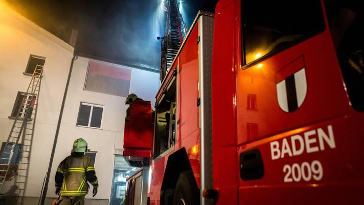 Feuerwehr Baden (Symbolbild; Archiv)