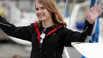 Laura Dekker beginnt Abenteuer