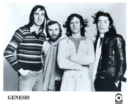 Genesis im Jahr 1976