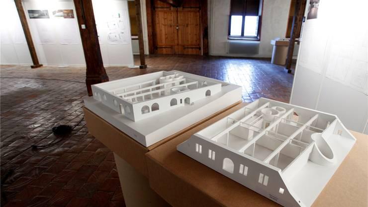 Modell des Siegerprojektes für den Umbau des Museums Altes Zeughaus.