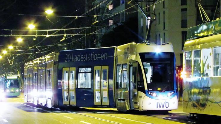 Wegen eines Rangierfehlers blockierte am Montagabend ein Tram die Strecke der Linie 1.