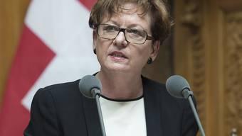 Bundeskanzlerin Corina Casanova tritt per Ende Jahr zurück. Das habe wohl niemand erwartet, sagt sie im Interview.