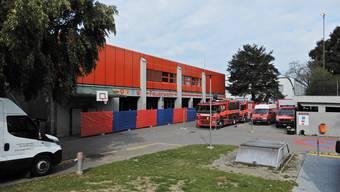 Feuerwehrmagazin Mellingen wird saniert