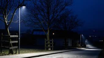 Bei der Aussenbeleuchtung haben sich LED-Leuchten endgültig durchgesetzt. Ihr Marktanteil beläuft sich inzwischen auf 86 Prozent und Neuanlagen werden praktisch nur noch mit LED realisiert. (Archivbild)