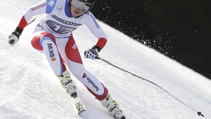 Fuhr der Konkurrenz im Super-G von Garmisch um die Ohren: Lara Gut