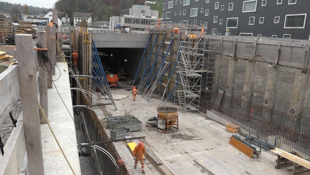 A1-Zubringer Lenzburg: So weit sind die Arbeiten auf der Grossbaustelle schon fortgeschritten