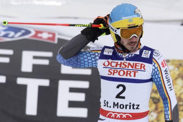 Felix Neureuther: «Ich gehe immer zuerst in den linken Skischuh rein und in den linken Ski.»