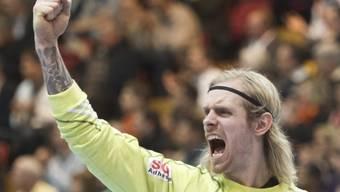 Kadettens Goalie Björgvin Gustavsson