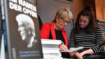Carla del Ponte am 2. Oltner Buchfestival in der Oltner Schützi