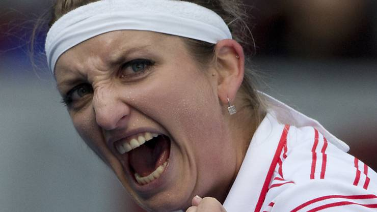 Timea Bacsinszky findet über den Kampf zum Spiel zurück