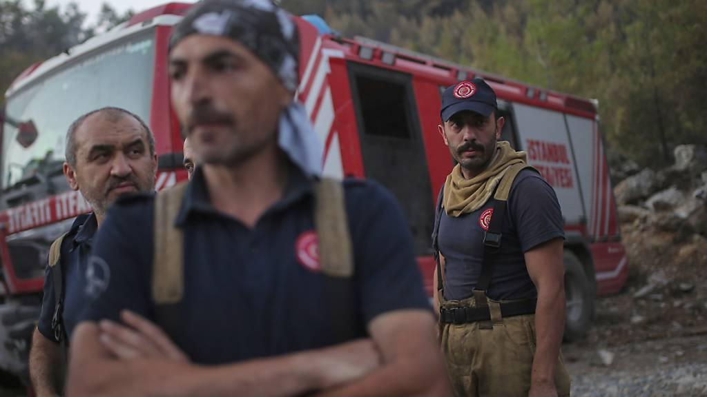 Mindestens sechs Feuer in Türkei weiterhin nicht unter Kontrolle