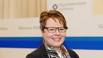 Marianne Wildi, CEO der Hypothekarbank Lenzburg.