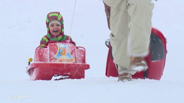 Erster Schnee bringt Freud und Leid
