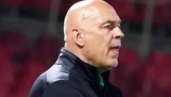 Will nicht mehr an der Seitenlinie stehen: Trainer Christian Gross