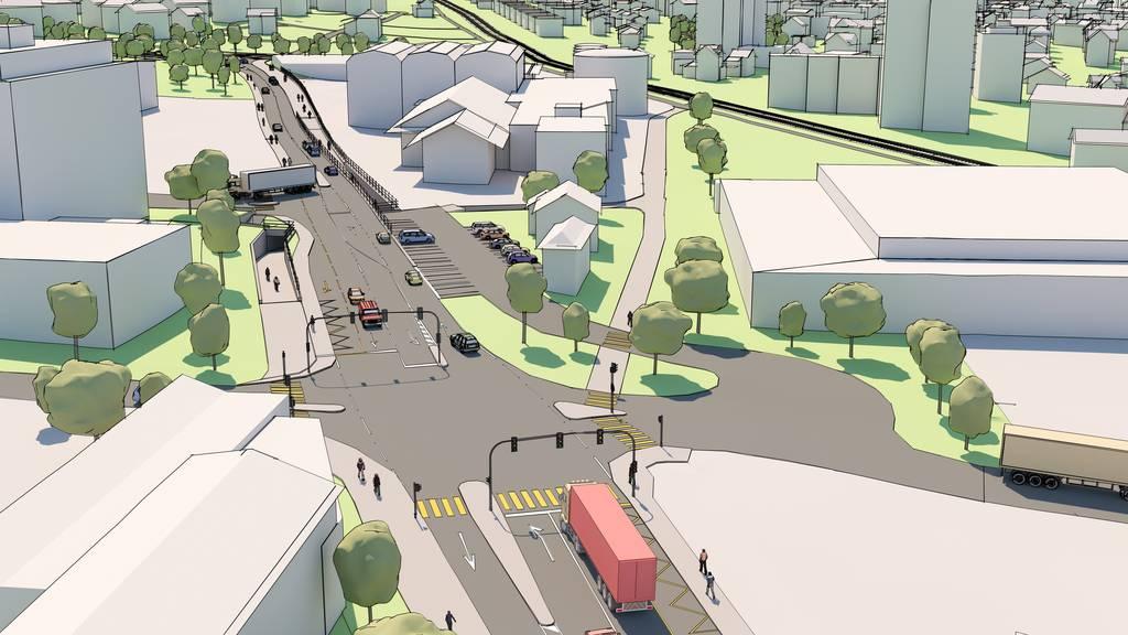 «Autobahnanschluss Plus»: Vorprojekt bestätigt Machbarkeit
