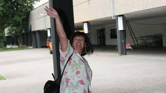 Gemeinschaftszentrum Telli: Hier traf sich Regula Müller viele Jahre mit Gleichgesinnten. Jetzt bricht sie in eine neue Zukunft auf.  ba Regula Müller bricht jetzt in eine neue Zukunft auf.  ba