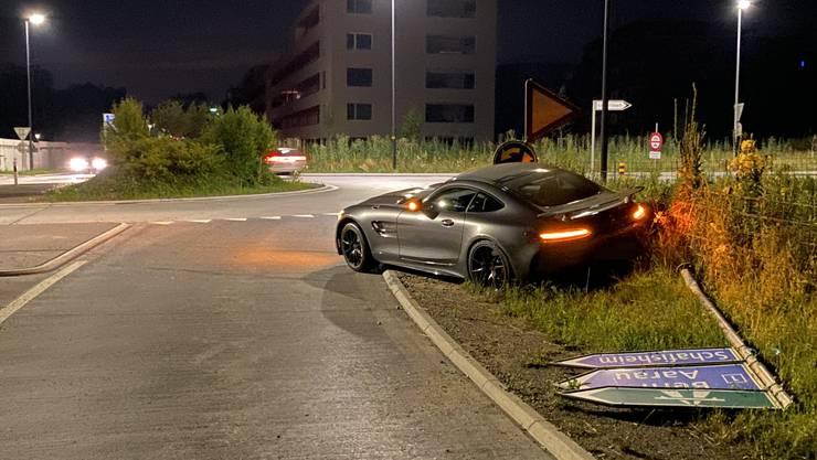 Unfall in Staufen.
