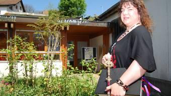 Wicca Meier-Spring ist im Grossraum Bremgarten aufgewachsen. Wicca bedeutet gute, weise Menschen oder eben Hexe.bal