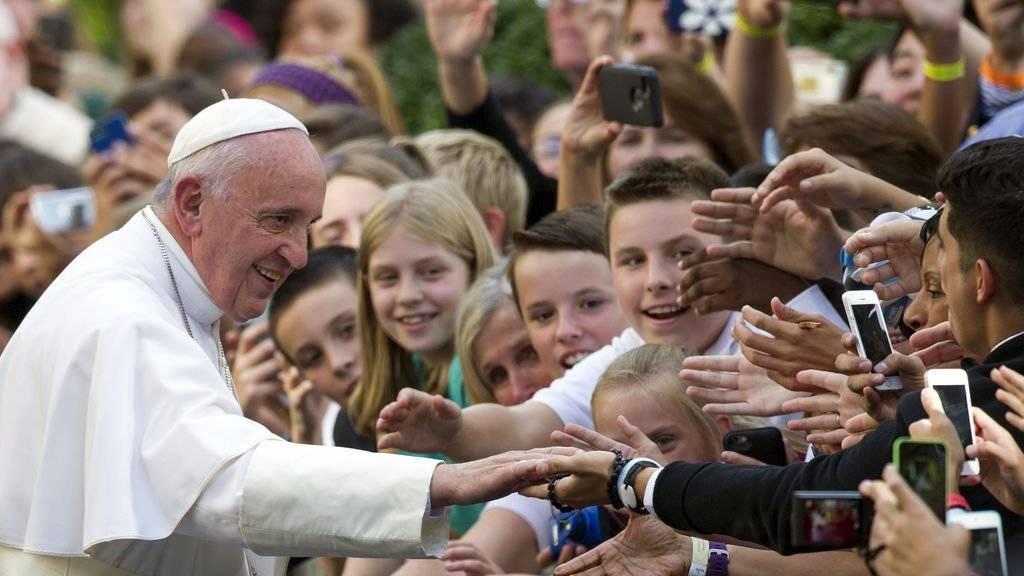 Papst Franziskus kommt im Sommer in die Schweiz