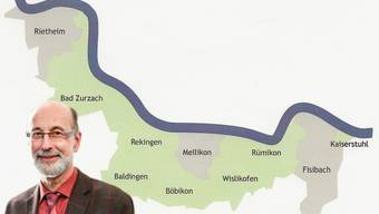 Der Zurzacher Gemeindeammann Reto S. Fuchs informierte im Bezirkshauptort über das Fusionsprojekt Rheintal+.