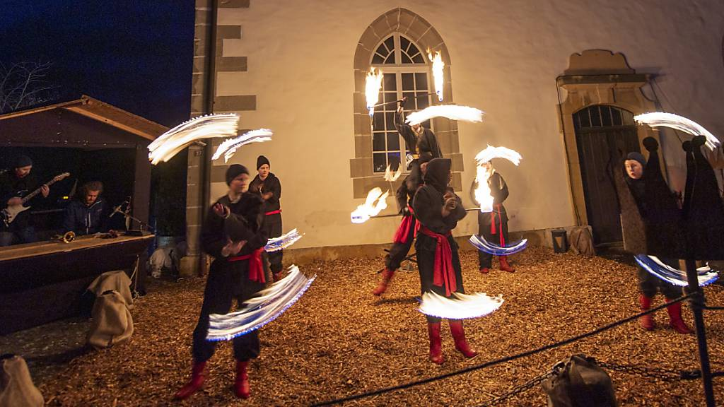 Licht-Festival Murten mit 90'000 Besucherinnen und Besuchern