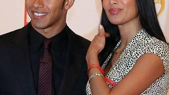 Lewis Hamilton mit seiner Freundin Nicole Scherzinger