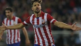 Atleticos Neuzugang Diego traf zum 4:0-Schlussresultat