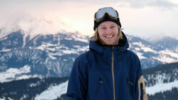 Der Freestyle-Snowboarder Lucien Koch lancierte seine Profi-Karriere in Wildhaus.