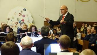 Das Abschiedskonzert von Dirigent Herbert Wendel mit der Musikgesellschaft Fislisbach