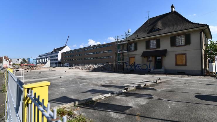 Einsprachen führen bei der Baustelle auf dem Dreispitz zu Verzögerungen.