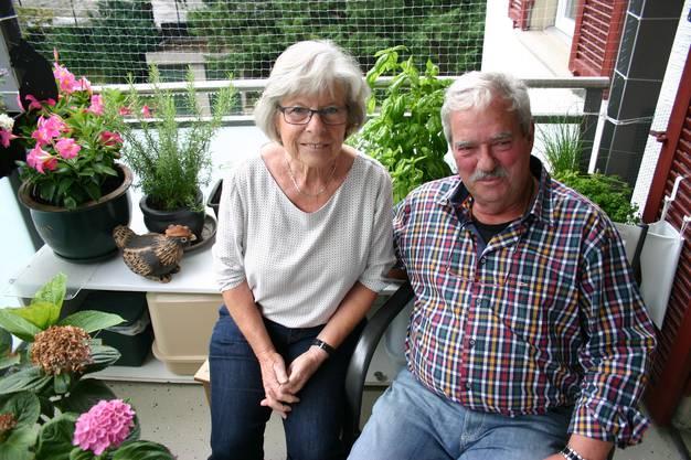 Sylvia Bader, 69, pensionierte Zivilschutzstellenleiterin bei der Stadt Schlieren, seit 43 Jahren mit Kurt Bader, 71, pensionierter Bereichsleiter in einem Technologiebetrieb, verheiratet.