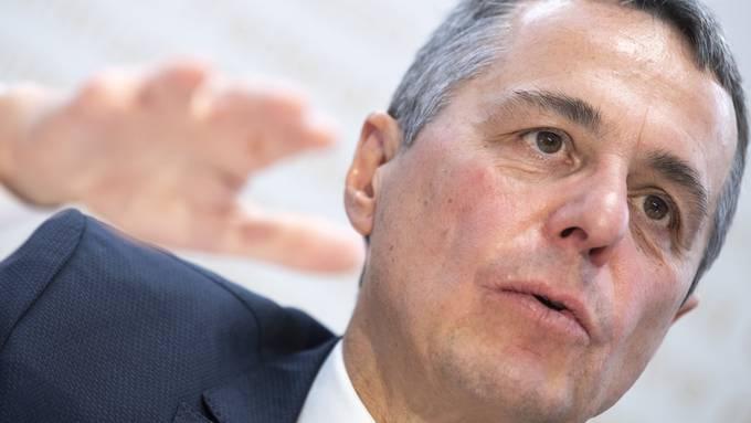 Aussenminister Ignazio Cassis, dem das DEZA unterstellt ist.  (KEYSTONE/Marcel Bieri)