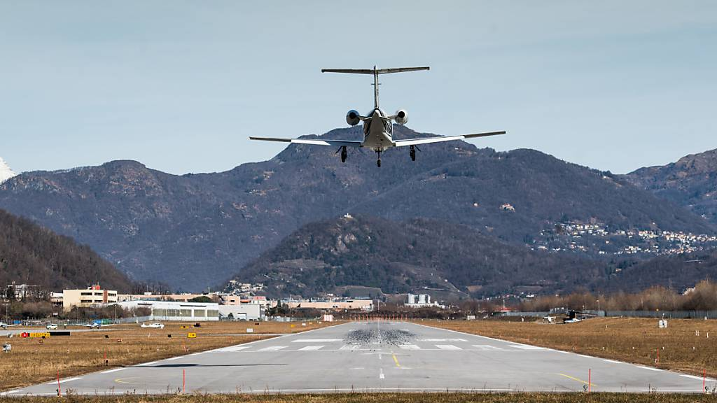 Flughafen Lugano-Agno erhält Flugsicherheits-Zertifikat