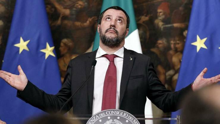 Mit der Politik der geschlossenen Häfen war es Italiens Innenminister Matteo Salvini gelungen, die Zahl der ankommenden Bootsflüchtlinge auf wenige hundert pro Monat zu reduzieren