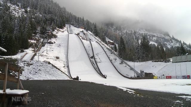 Sprungschanzen-Eröffnung in Kandersteg