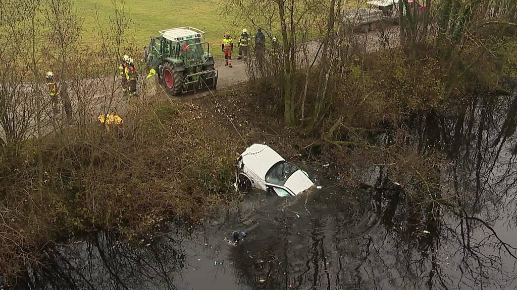 Kurznachrichten: Auto in Thur versenkt, Brand, FCSG-Catering