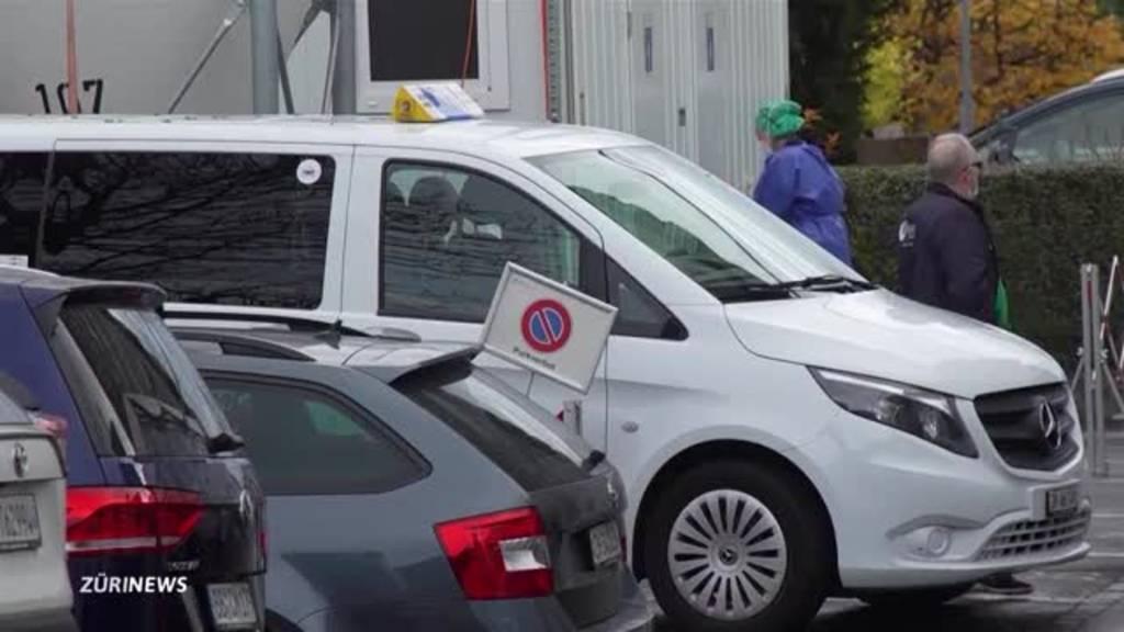 Corona-Taxi in Zürich gestartet