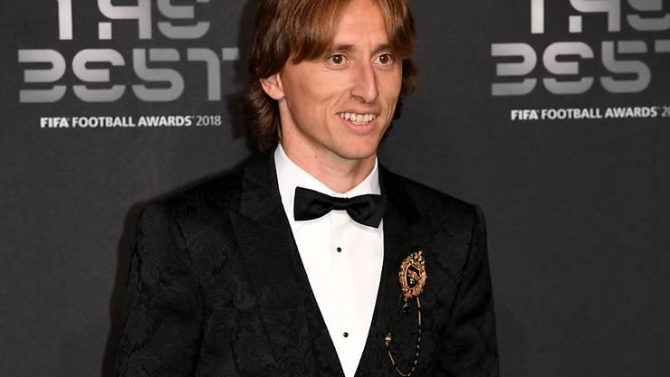 Der Beste in diesem Jahr: Luka Modric wurde in London als Weltfussballer des Jahres geehrt