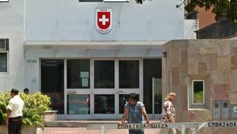 Die Schweizer Botschaft in Peru. Eine Honorarkonsulin riet dem Aargauer davon ab, trotz Haftbefehl zu den örtlichen Behörden in Peru zu gehen. (Symbolbild)