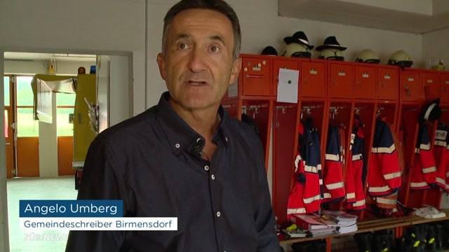 Birmensdorf nach Gewitter offline