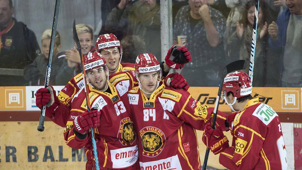 Aufsteiger Langnau feierte vor heimischem Publikum den ersten Saisonsieg