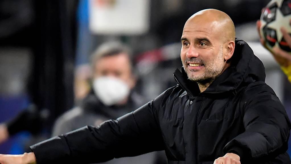 Pep Guardiola hat den Erfolg von Barcelona über München nach Manchester mitgenommen