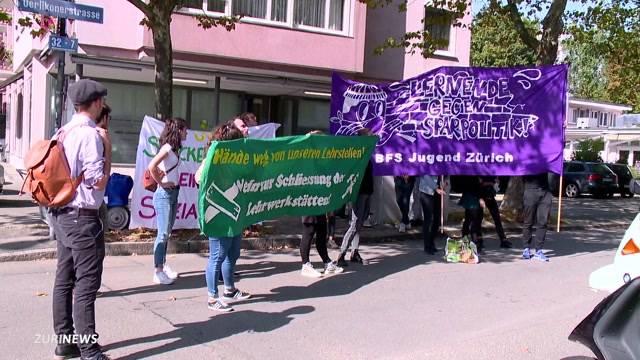 Demo gegen Zürcher Sparpaket