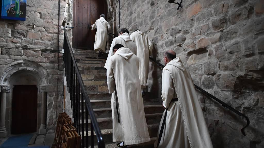 Haben sich Kardinäle heimlich in St. Gallen getroffen und Pläne geschmiedet, um den Papst zu stürzen? (Symbolbild) (Jeff J Mitchell/Getty Images)