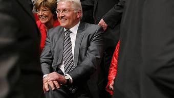 Schmidt und Steinmeier im April 2009